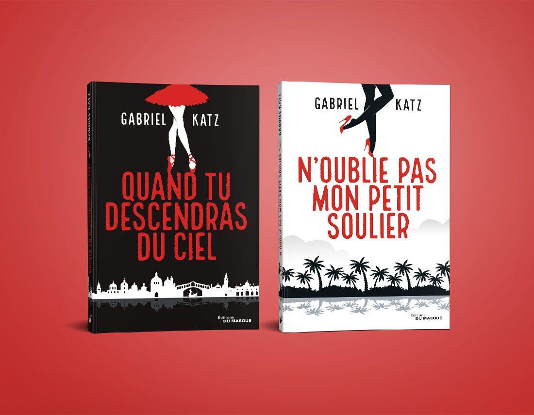 couvertures romans Katz